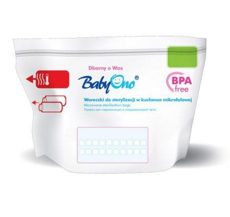 BabyOno sterilizáló zacskó
