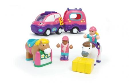 Wow, Poppy a lószállító autó