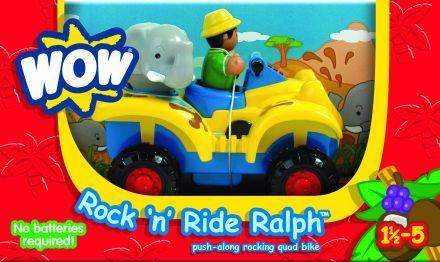 Wow, Ralph a quad