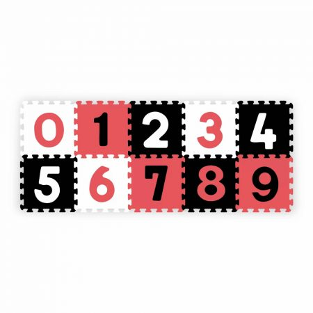 Babyono habszivacs puzzleszőnyeg - számok
