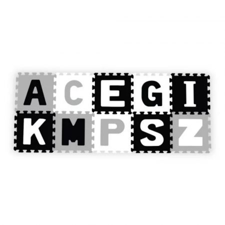 Babyono habszivacs puzzleszőnyeg - betűk