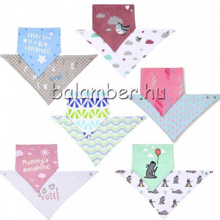 Babyono háromszög előke-nyálkendő 2db-os