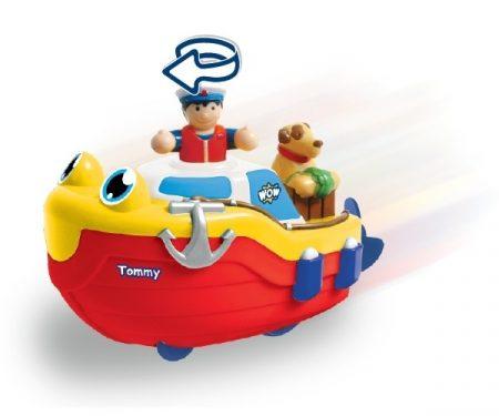 Tommy a vontatóhajó