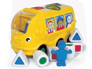 Wow, Sidney az iskolabusz