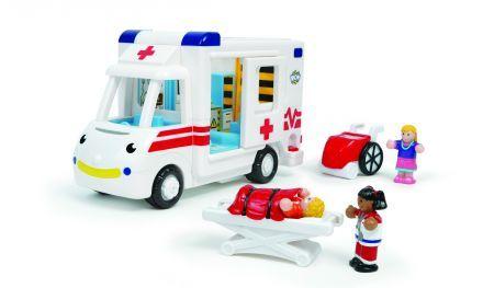 Wow, Robin a mentőautó