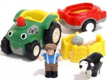 Wow, Bernie a traktor