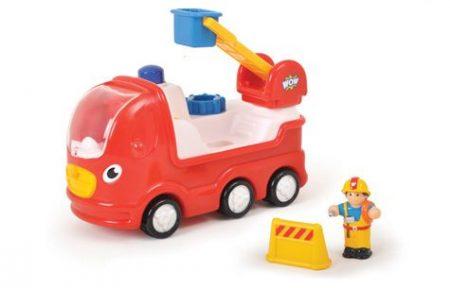 Ernie tűzoltóautója