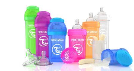 Twistshake cumisüveg és tápszeradagoló shaker 2az1-ben
