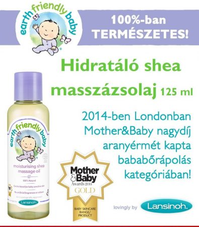 Lansinoh Earth Friendly Baby -  Hidratáló shea masszázsolaj