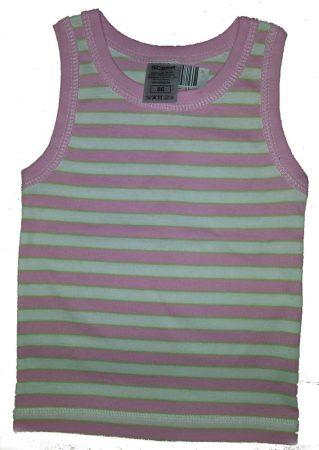 Scamp trikó, rózsaszín csíkos 86-os