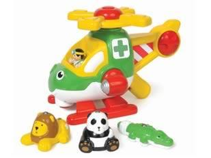 Wow, Harry az állatmentő helikopter