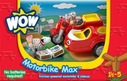 Wow, Max az oldalkocsis motorkerékpár