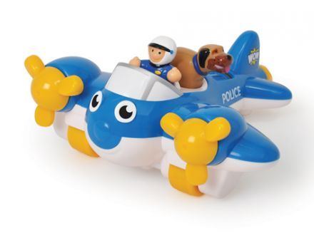 Wow, Pete a rendőrségi repülő